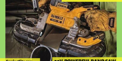 Dewalt DCS374B 20V Band Saw Review
