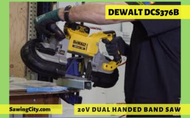 Dewalt DCS376B 20V Dual Handed Band Saw review