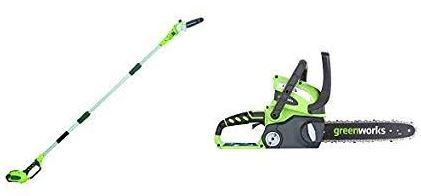 Greenworks 20672 Pole Saw Reviews