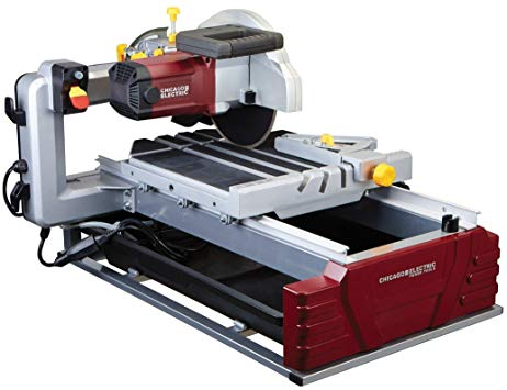 Chicago Electric Tile Saw 2.5HP Review