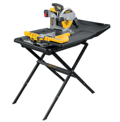 DEWALT D24000S Wet Tile Saw with Stand Review