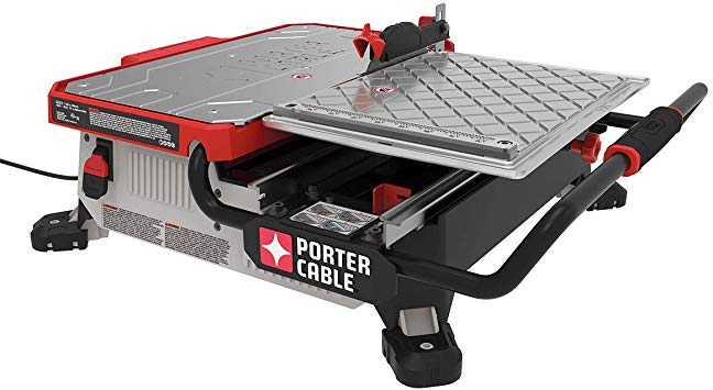 PORTER-CABLE PCE980 Wet Tile Saw Review