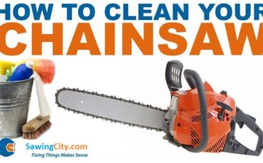 How to Clean a Chainsaw guide