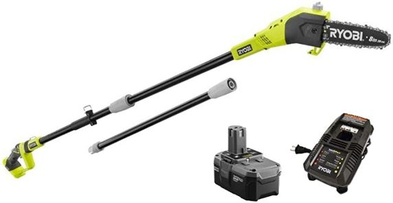 Ryobi One+ 8 in. 18-Volt 9.5 ft. Cordless Electric Pole Saw Review