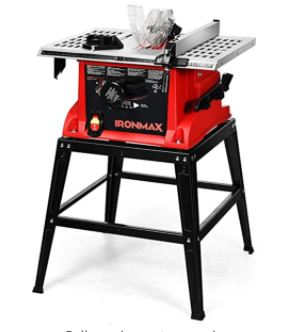 GoPlus 10-inch 15-AMP Portable Table Saw Reviews