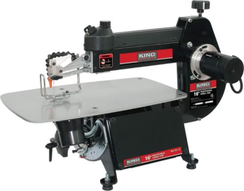 King Industrial 16-inch Scroll Saw Review